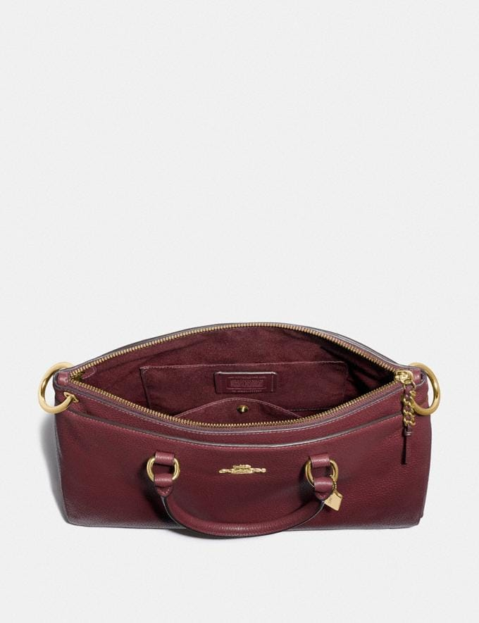 Coach Mia Satchel Im/Wine  Alternate View 1