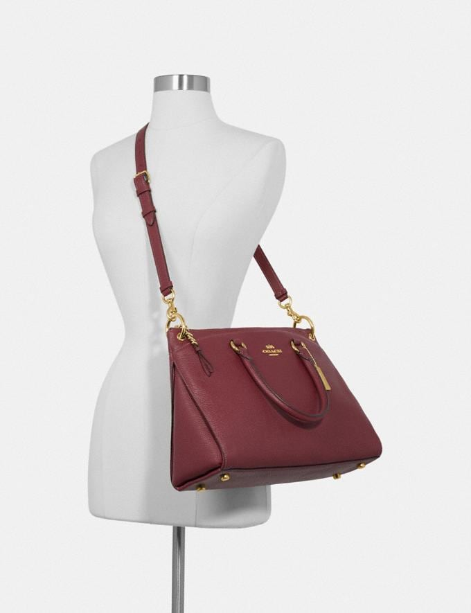 Coach Mia Satchel Im/Wine  Alternate View 2