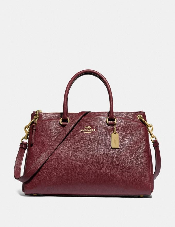Coach Mia Satchel Im/Wine