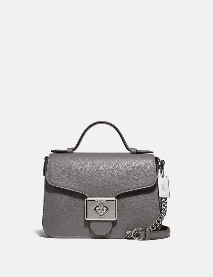 Coach Cassidy Top Handle Crossbody Sv/Heather Grey Bags Crossbody Bags