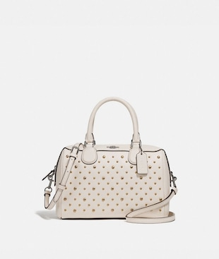 MINI BENNETT SATCHEL WITH RIVETS