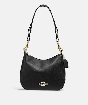 JES HOBO WITH SIGNATURE CANVAS STRAP