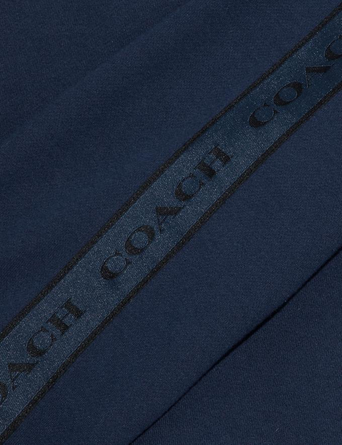 Coach Coach Tape Sweatshirt Navy  Alternate View 1