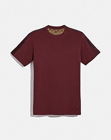coach tape t-shirt