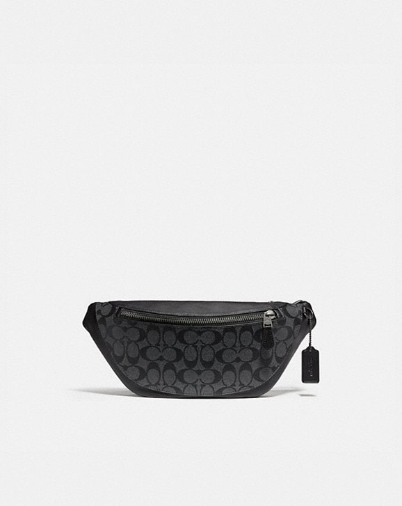 Coach WARREN BELT BAG IN SIGNATURE CANVAS