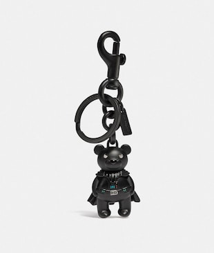 STAR WARS X COACH DARTH VADER BEAR BAG CHARM