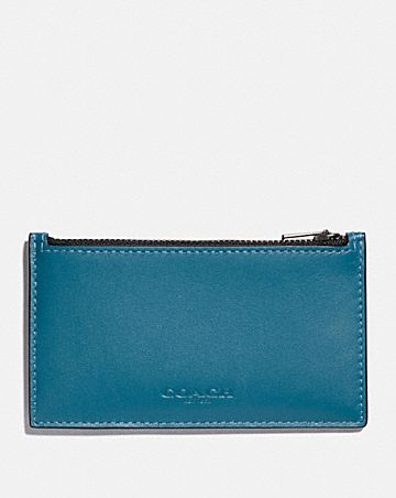 ZIP CARD CASE IN COLORBLOCK