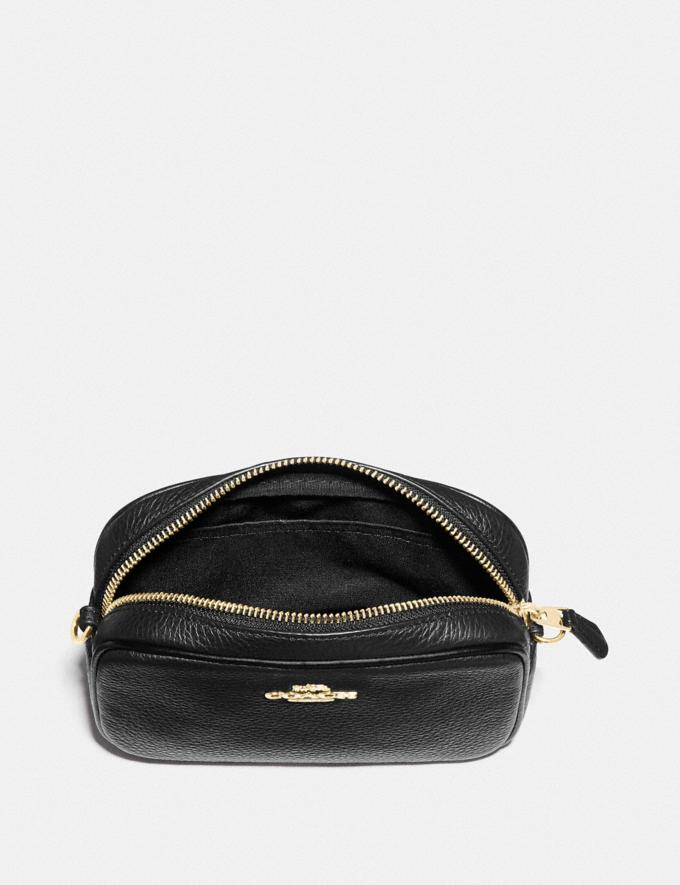 Coach Convertible Belt Bag Black/Gold DEFAULT_CATEGORY Alternate View 1