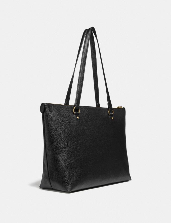 Coach Gallery Tote Im/Black Women Alternate View 1
