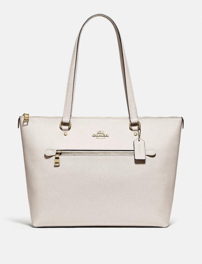 Coach Gallery Tote Im/Chalk Handbags Handbags Totes