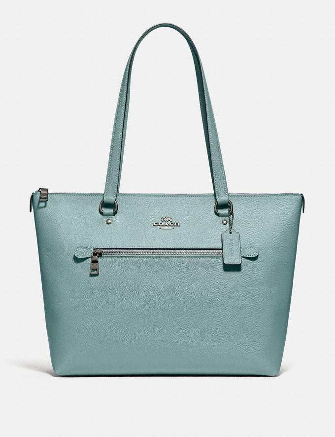 Coach Gallery Tote Qb/Sage Clearance Handbags