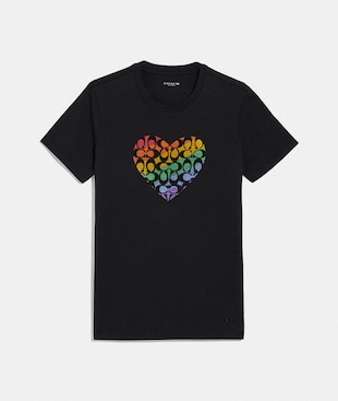 LIFE COACH SIGNATURE HEART T-SHIRT