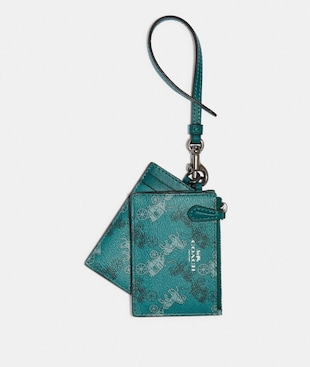 LANYARD SET WITH HORSE AND CARRIAGE PRINT