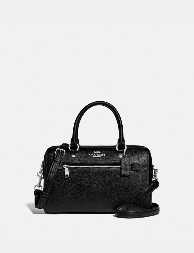 Coach Rowan Satchel Sv/Black DEFAULT_CATEGORY