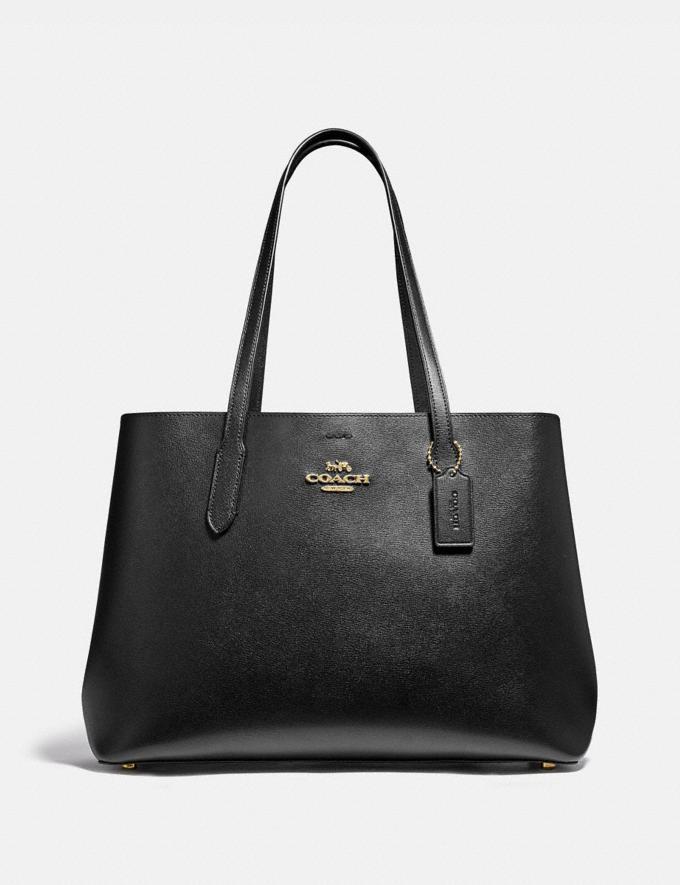 Coach Large Avenue Carryall Im/Black Oxblood 1 Women Business Essentials