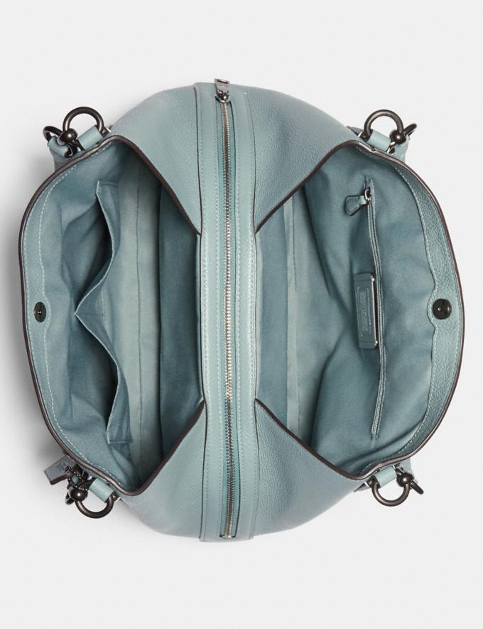 Coach Hallie Shoulder Bag Sv/Pale Blue Women Bags Alternate View 2