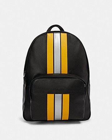 houston backpack with varsity stripe