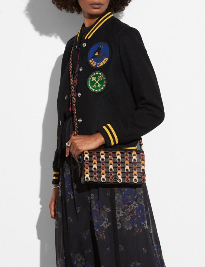 Coach Dinky With Colorblock Coach Link Chalk Multi/Black Copper  Alternate View 2