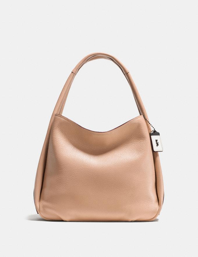 Coach Bandit Hobo Beechwood/Black Copper Handbags Handbags Shoulder Bags