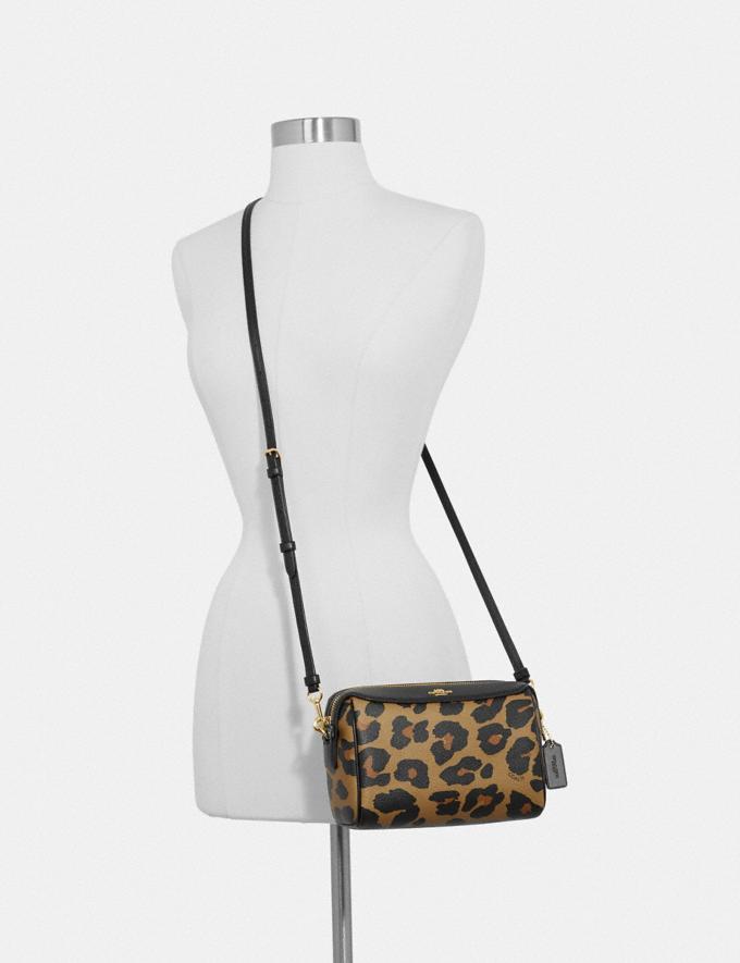 Coach Bennett Crossbody With Leopard Print Im/Natural Handbags Handbags Crossbody Bags Alternate View 2