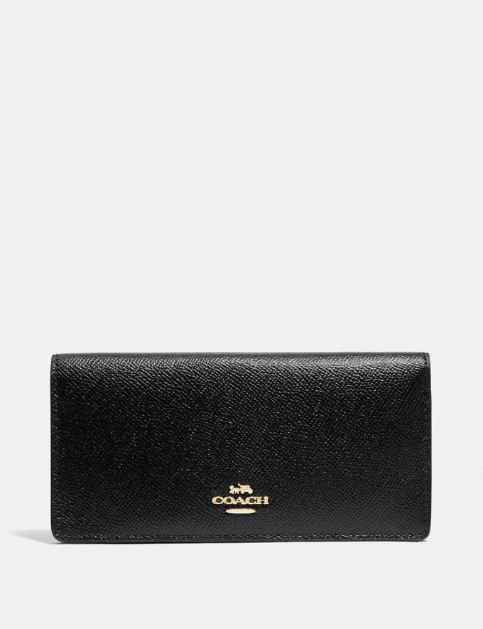 Coach Bifold Wallet Im/Black