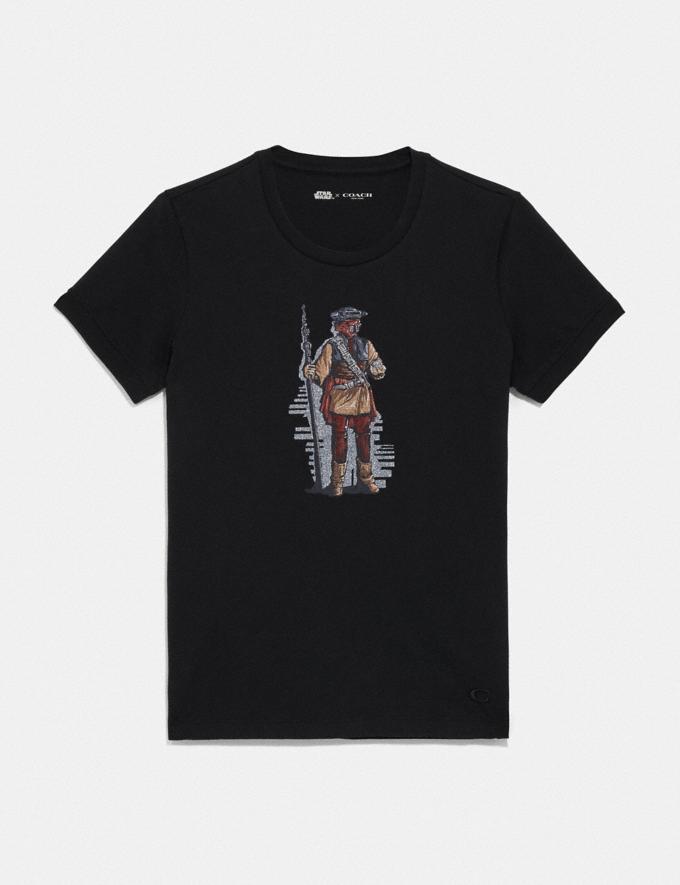 Coach Star Wars X Coach Princess Leia as Boushh T-Shirt Black