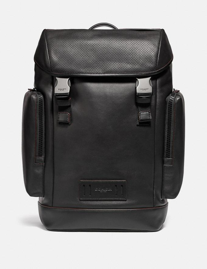 Coach Ranger Backpack Qb/Black