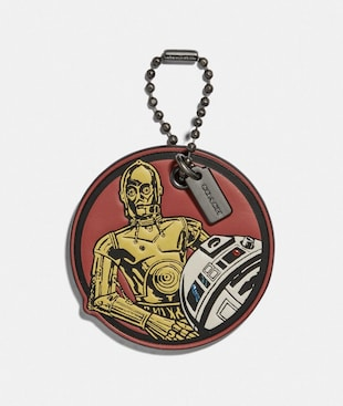 STAR WARS X COACH C-3PO AND R2-D2 HANGTAG