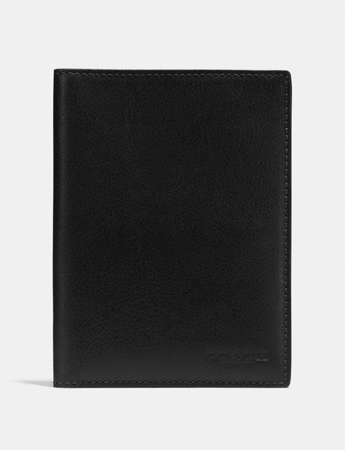 Coach Passport Case Black