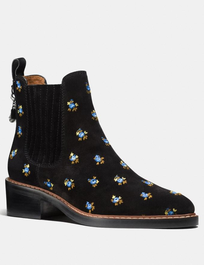 Coach Bowery Chelsea Boot Black