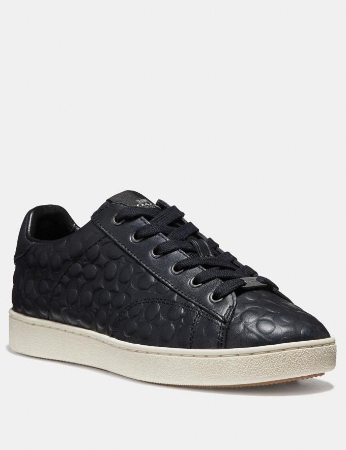 Coach C126 Low Top Sneaker Chalk Friends & Family Sale Women's Shoes
