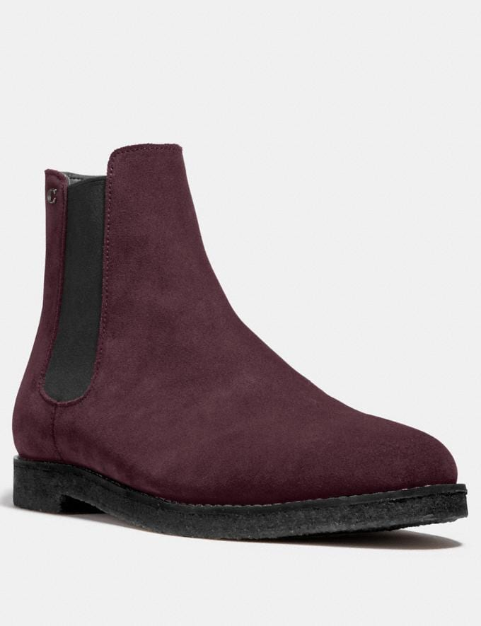 Coach Chelsea Boot Oxblood