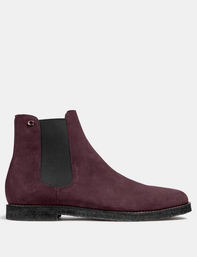 Coach Chelsea Boot Oxblood  Alternate View 1