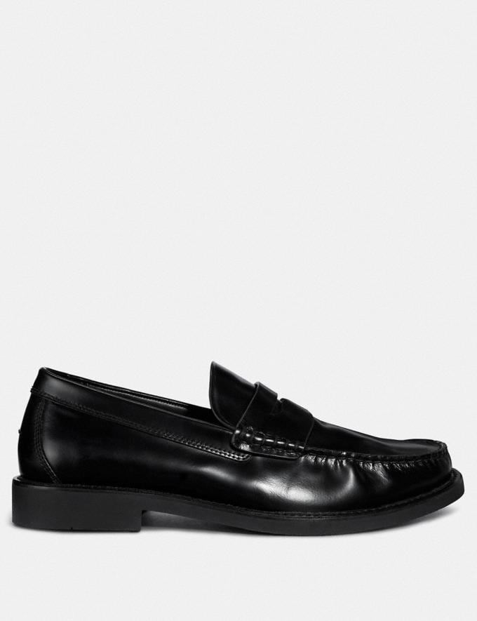 Coach Loafer Black  Alternate View 1