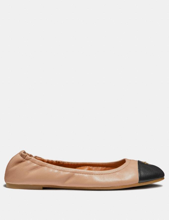 Coach Bonnie Ballet Nude Pink/Black  Alternate View 1