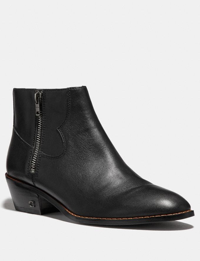 Coach Dani Bootie Black Friends & Family Sale Women's Shoes