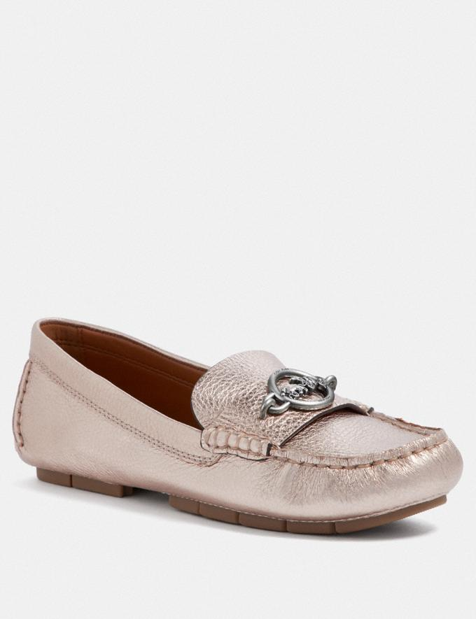 Coach Margot Loafer Champagne Friends & Family Sale Women's Shoes