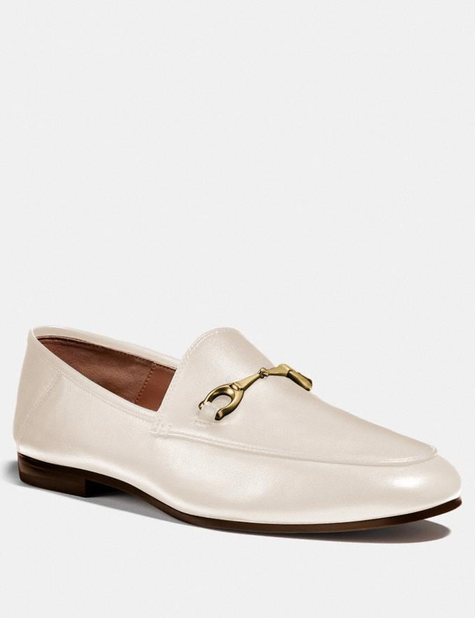 Coach Haley Loafer Chalk
