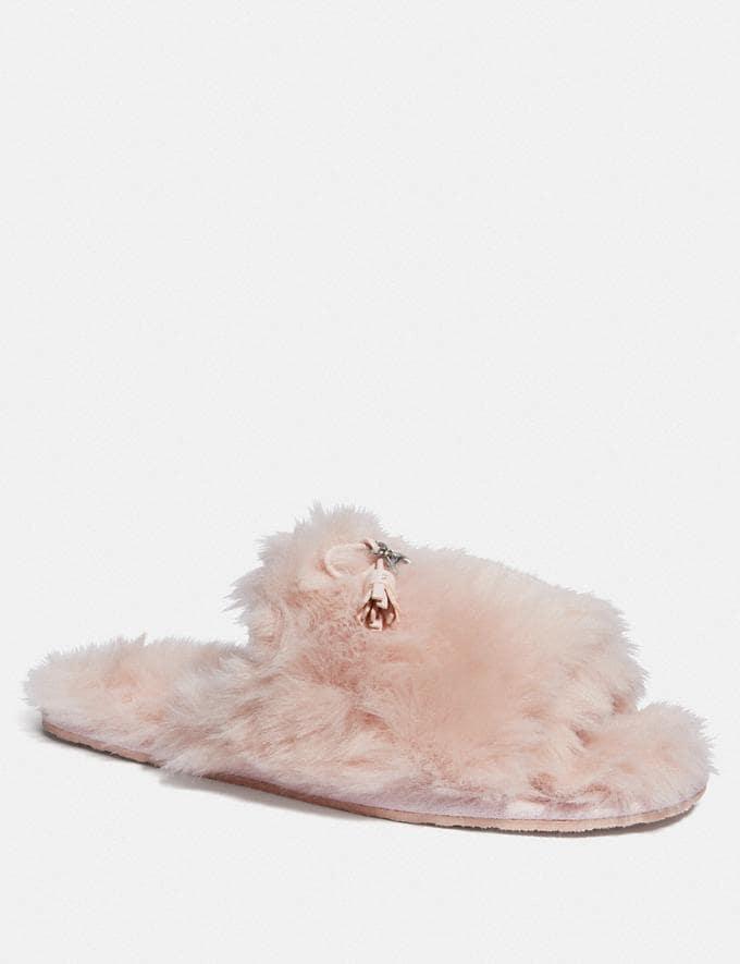 Coach Zoe Slipper Pink Friends & Family Sale Women's Shoes