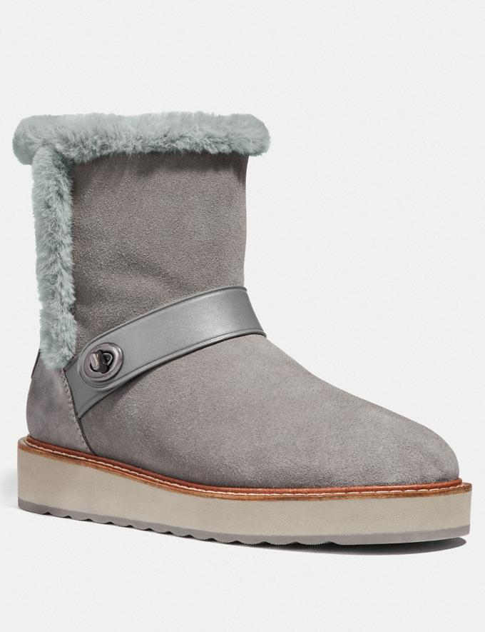 Coach Illia Boot Heather Grey