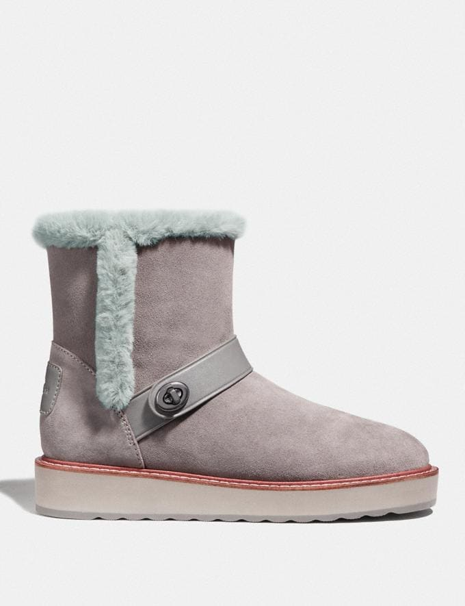 Coach Illia Boot Heather Grey  Alternate View 1