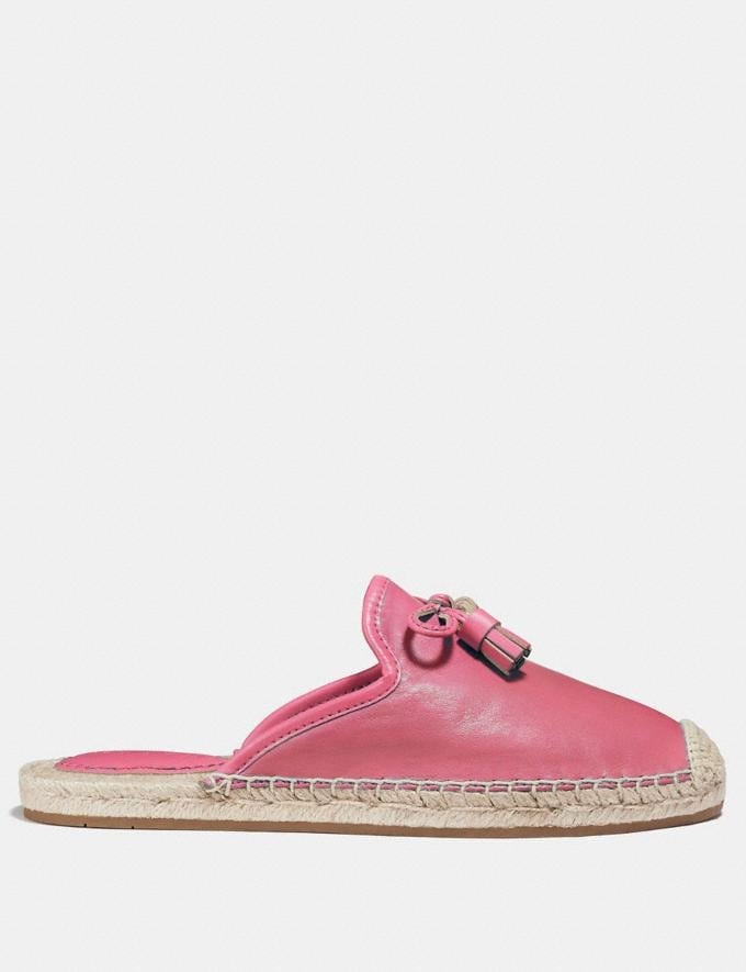 Coach Cassidy Espadrille Pink Ruby  Alternate View 1