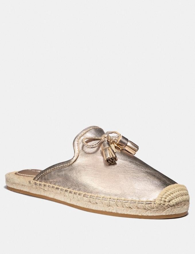 Coach Cassidy Espadrille Champagne