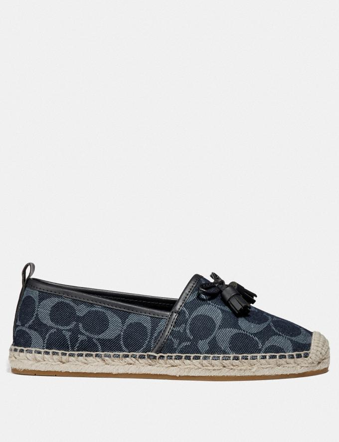 Coach Carson Espadrille Denim  Alternate View 1
