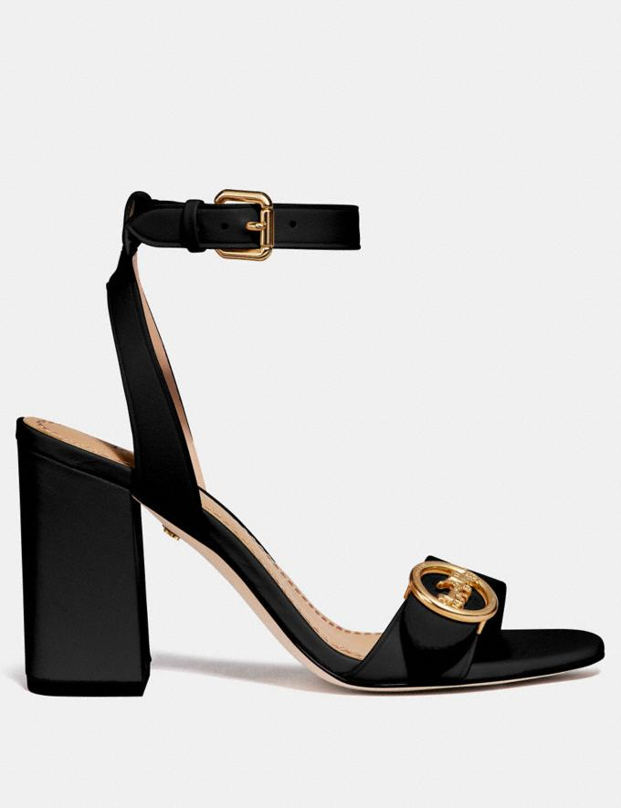 Coach Maddi Sandal Black  Alternate View 1