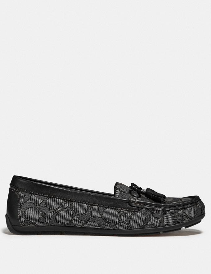 Coach Moira Loafer Black/Coal  Alternate View 1