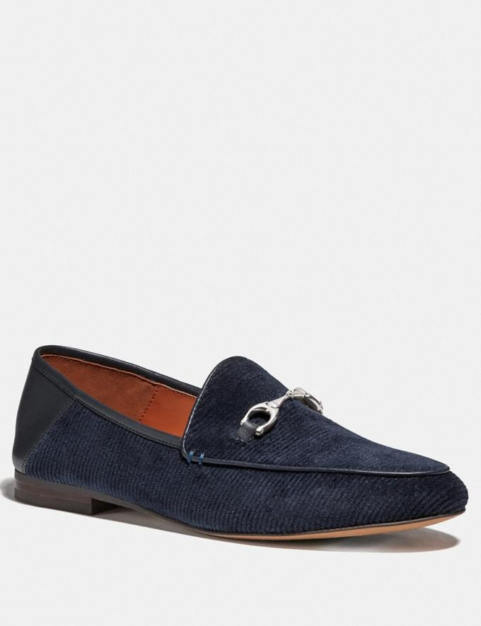 Coach Haley Loafer Navy
