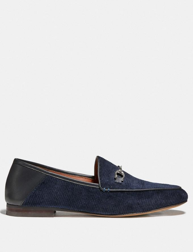 Coach Haley Loafer Navy  Alternate View 1