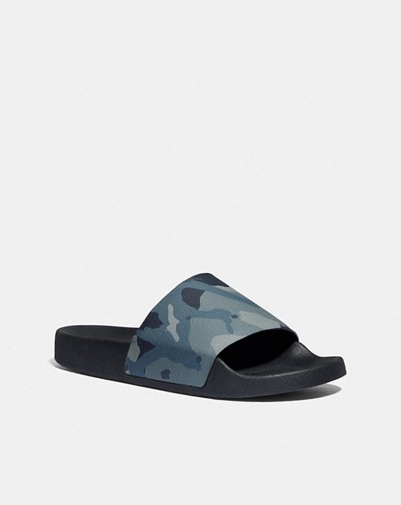 Coach COACH SLIDE WITH CAMO PRINT