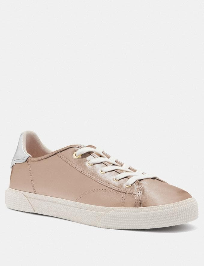 Coach C136 Low Top Sneaker Champagne